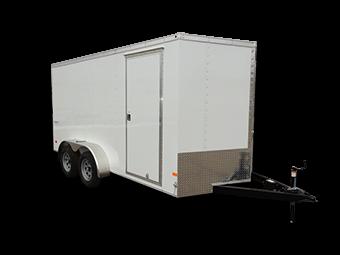 2017 Haulmark TH7X14DT2 Enclosed Cargo Trailer