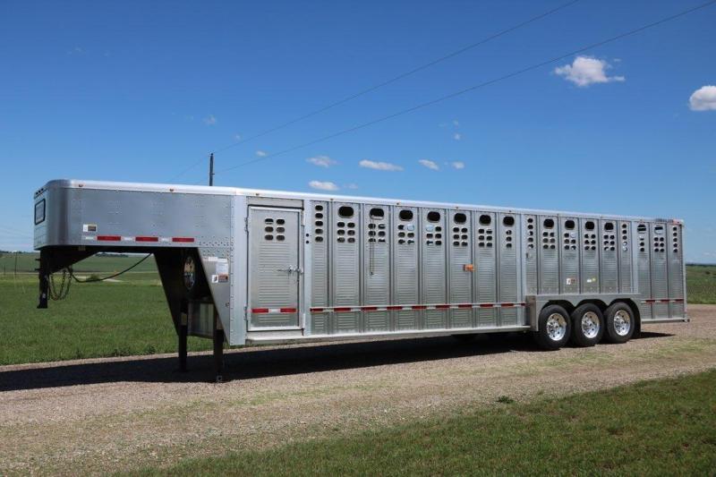 2017 Wilson Trailer Company 7x32 Stock Trailer Livestock Trailer