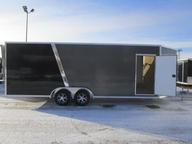 2018 EZ Hauler EZES7.5X22-IF Snowmobile Trailer
