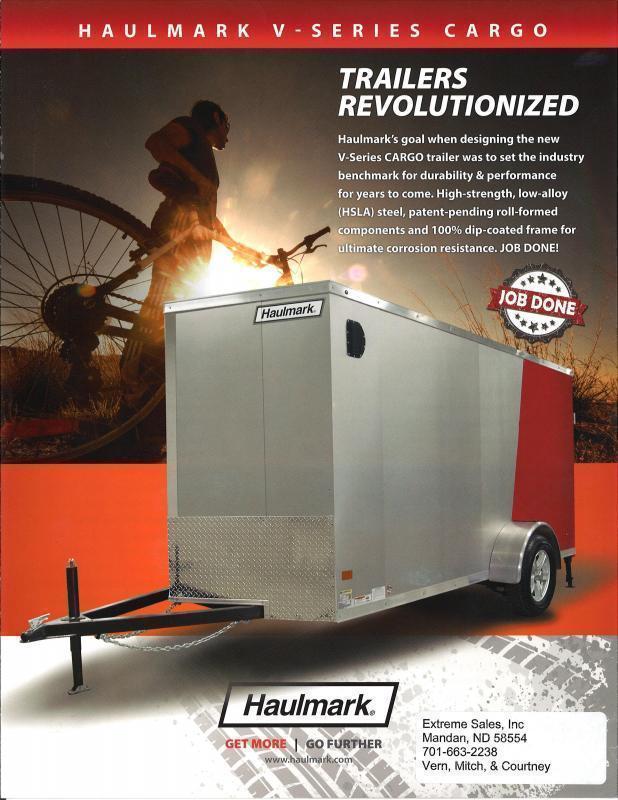 2018 Haulmark HMVG714T Enclosed Cargo Trailer 1000 Series