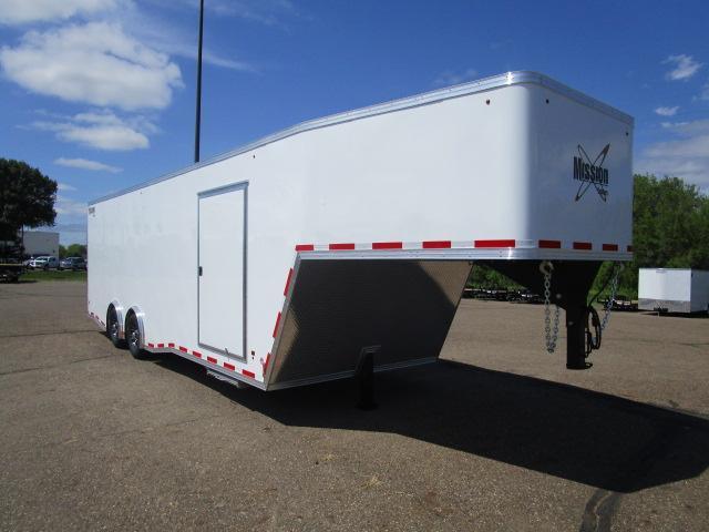 2019 Mission MEG8.5x34 Gooseneck Enclosed Cargo Trailer