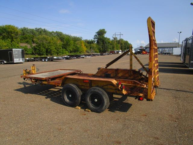 1968 Halet 16' Equipment Trailer