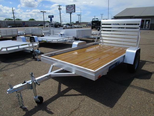 2018 Aluma 6810 Edge Series Wood Deck Utility Trailer