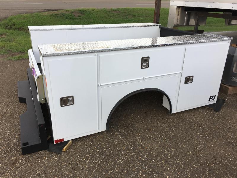 2018 PJ Truck Beds PJG8178VHFS Truck Bed Service Body