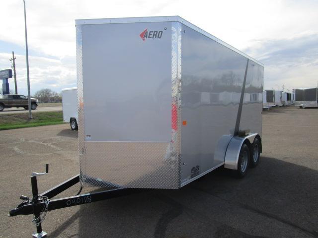2018 AERO 7x14V Enclosed Cargo Trailer