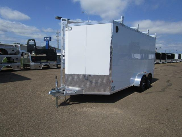 2018 EZ Hauler EZEC7X16UCP-IF Enclosed Cargo Trailer