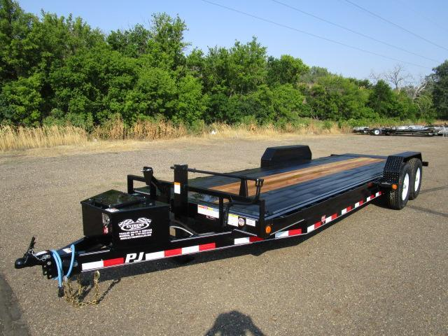 2019 PJ Trailers 22' Powered Full Tilt Trailer