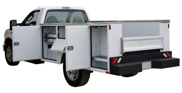 2018 PJ Truck Beds PJG9878VVFF Truck Bed Service Body