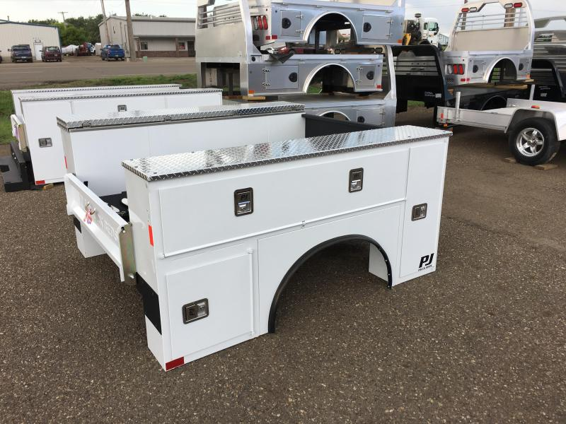 2018 PJ Truck Beds PJG9878VVSS Truck Bed Service Body