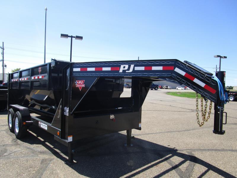 2018 PJ Trailers 14' Rollster Roll Off Dump Trailer