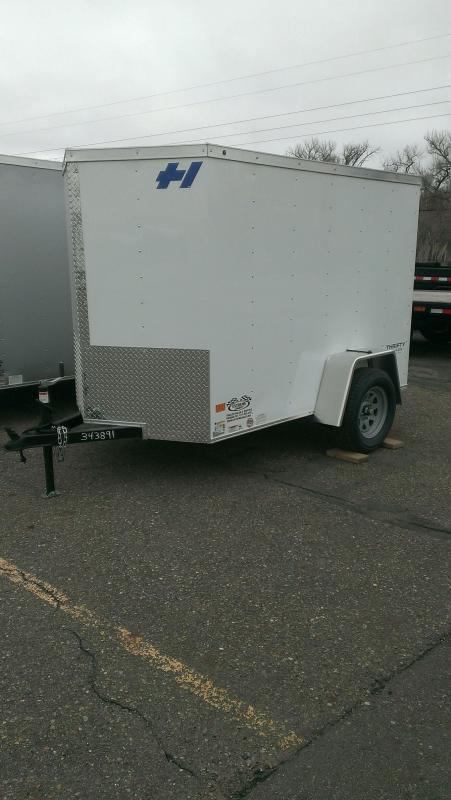 2017 Haulmark TH5X8DS2 Enclosed Cargo Trailer