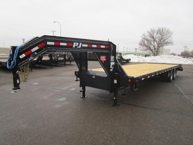 2019 PJ Trailers 32' Classic Flatdeck with Duals Trailer