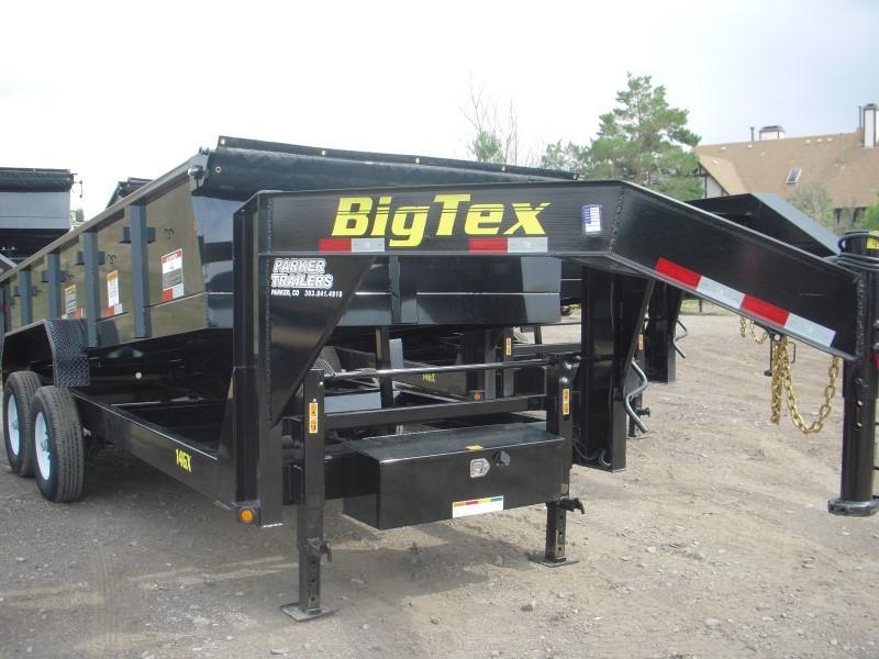 2018 Big Tex Trailers 14GX-16BK7SIRPD Dump