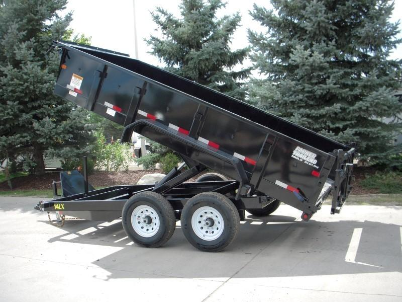 2018 Big Tex Trailers 14LX-14BK7SIRPD Dump
