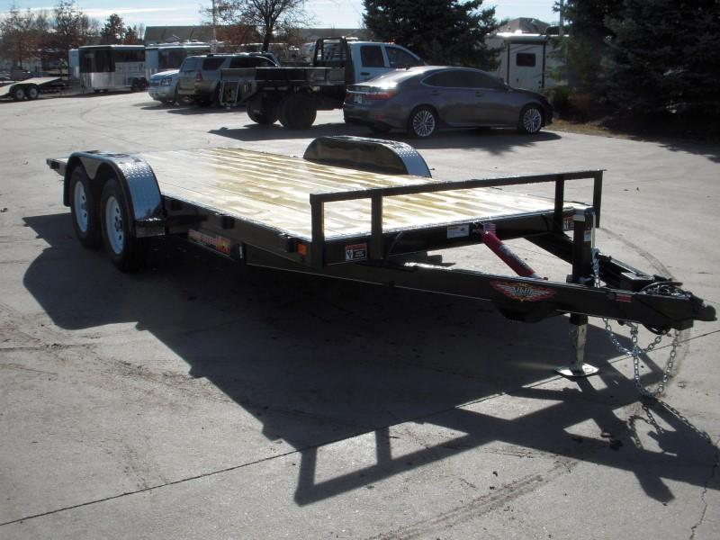 2018 H&H H8218MX-070 Flatbed Trailer