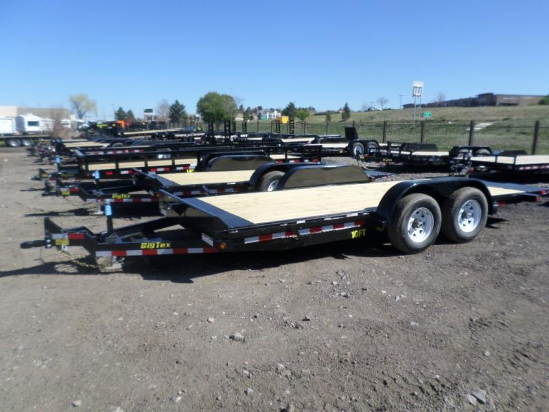 2017 Big Tex Trailers 10FT-18 Flatbed Trailer