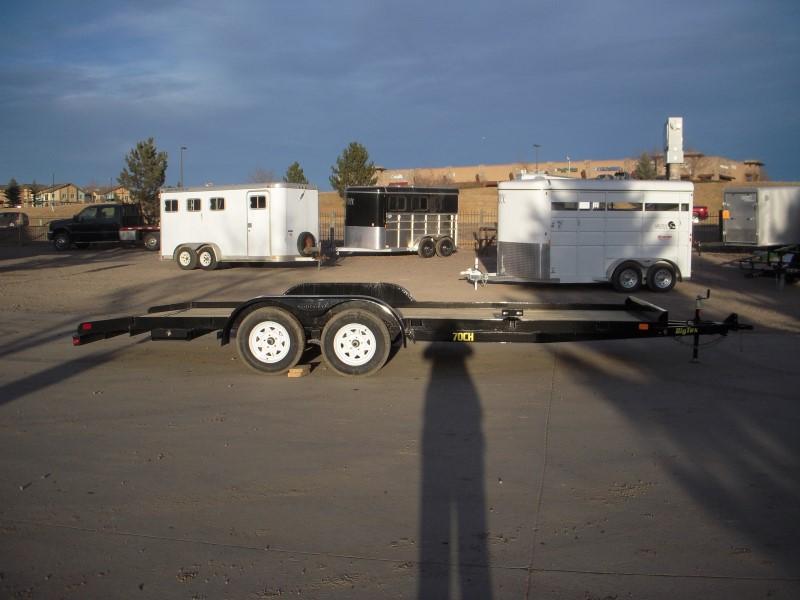 2018 Big Tex Trailers 70CH-20BKDT Flatbed Trailer