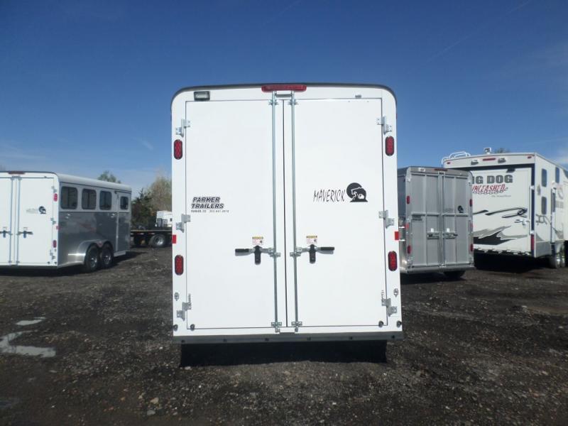 2017 Maverick MAV3H-7K DD ALUM Horse Trailer