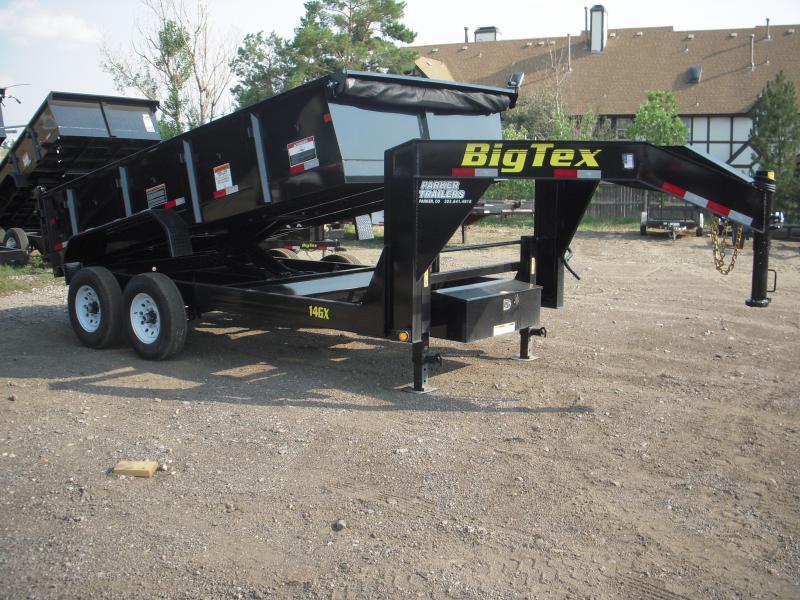 2018 Big Tex Trailers 14GX-14BK7SIRPD Dump