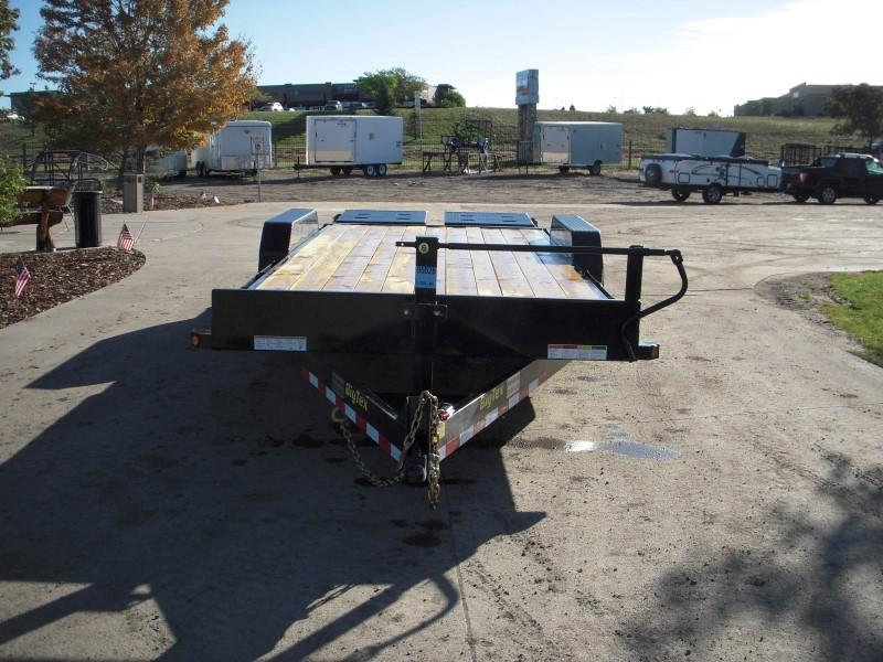 2018 Big Tex Trailers 14ET-20BK-MR Flatbed Trailer