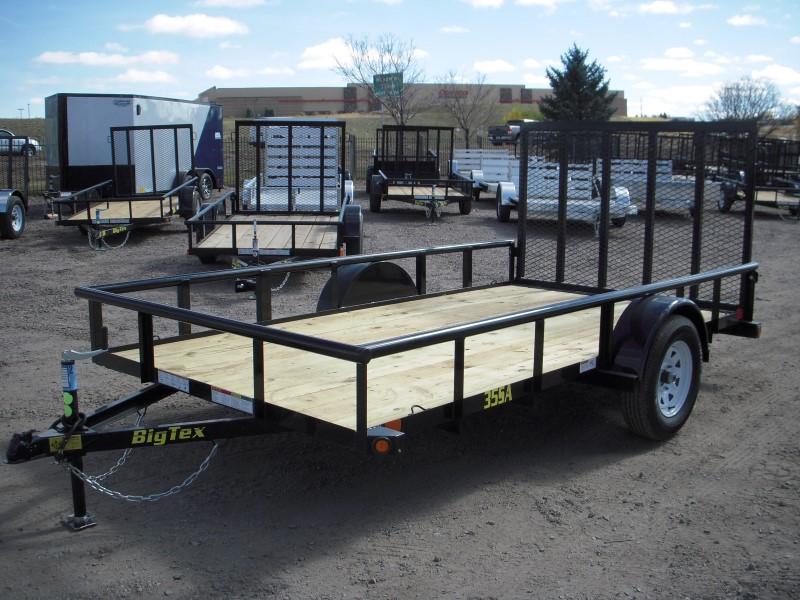 2018 Big Tex Trailers 35SA-12BK4RG Flatbed Trailer