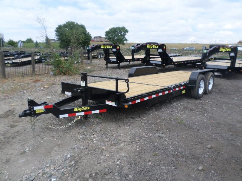 2017 Big Tex Trailers 14TL-22BK Flatbed Trailer