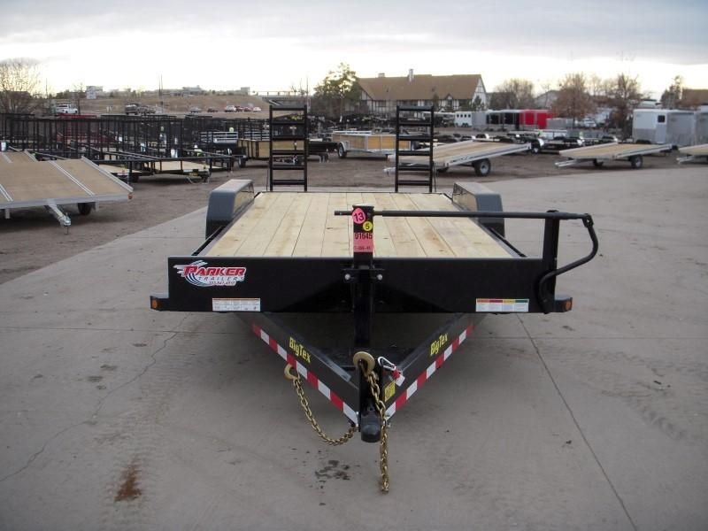2018 Big Tex Trailers 14ET-20BK-KR Flatbed Trailer