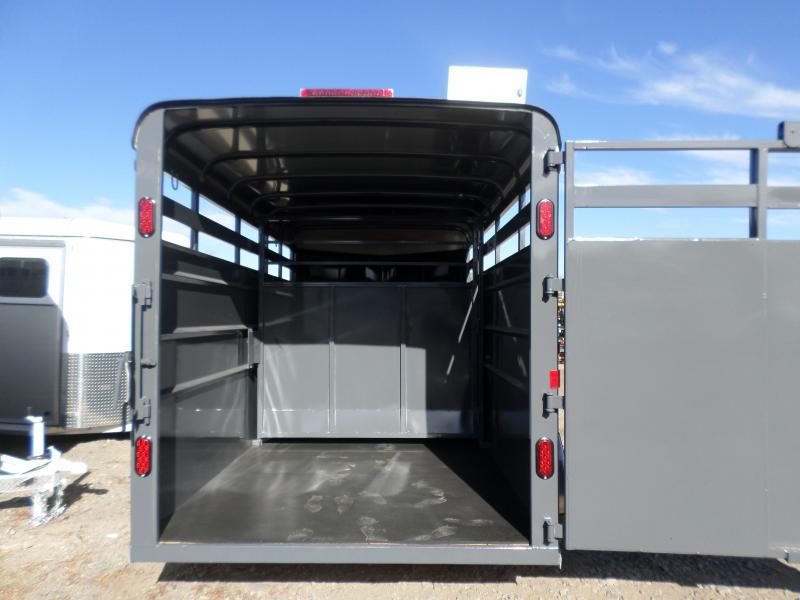 2017 Maverick MAV ST6616-7K Horse Trailer