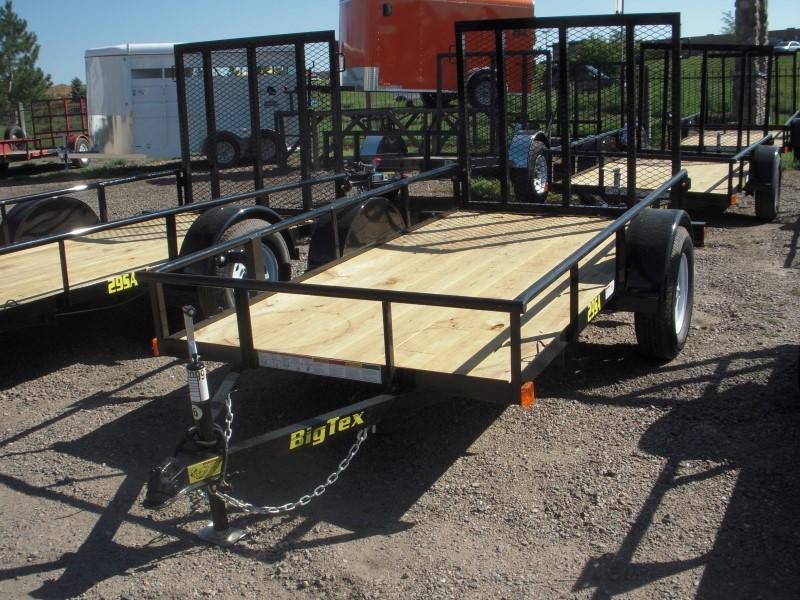 2017 Big Tex Trailers 29SA-10BK Utility Trailer