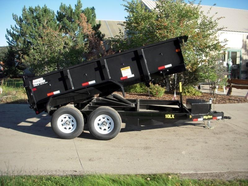 2018 Big Tex Trailers 10LX-12BK7SIR Dump