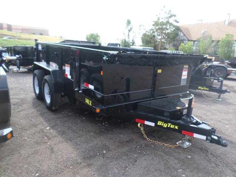 2017 Big Tex Trailers 14LX-12BK Dump