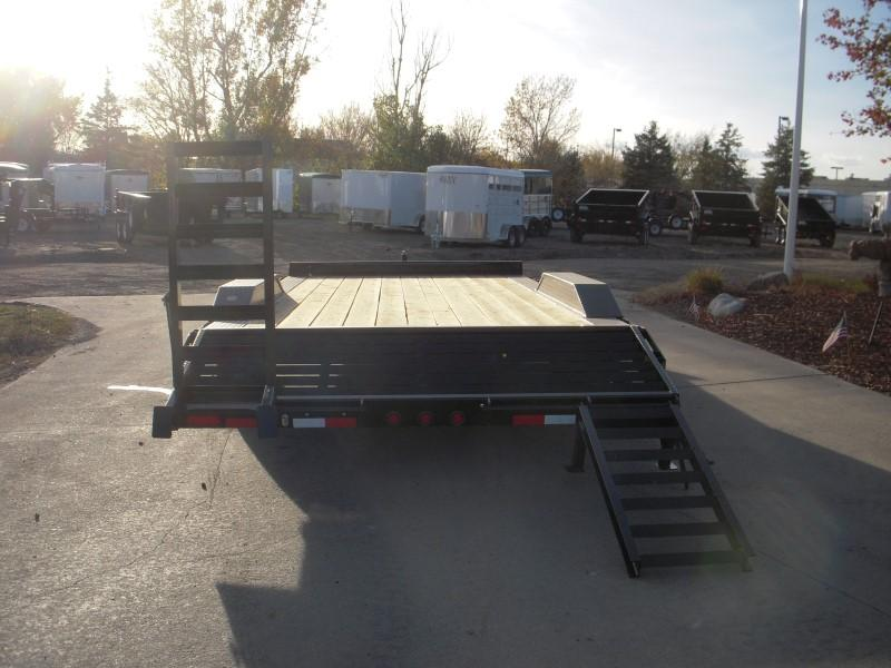 2017 Big Tex Trailers 10DF-20BK Flatbed Trailer