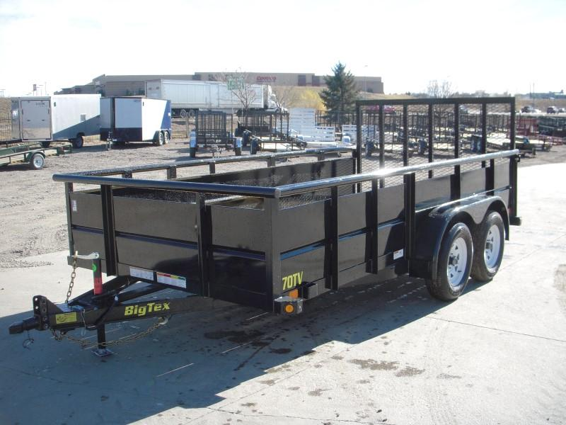 2018 Big Tex Trailers 70TV-12 Utility Trailer