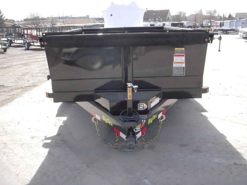 2018 Big Tex Trailers 14LX-12BK7SIRPD Dump