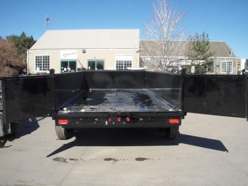2018 Big Tex Trailers 16LX-16BK7SIRPD Dump