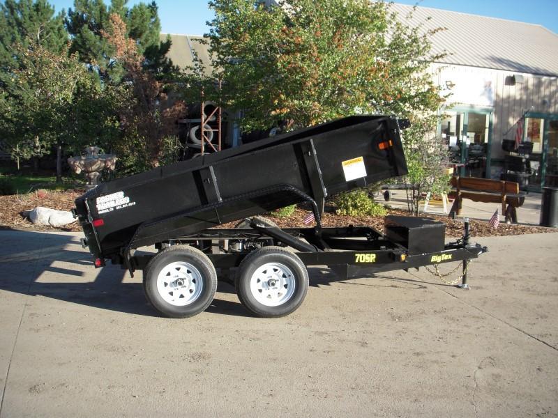 2018 Big Tex Trailers 70SR-10-5WDD Dump
