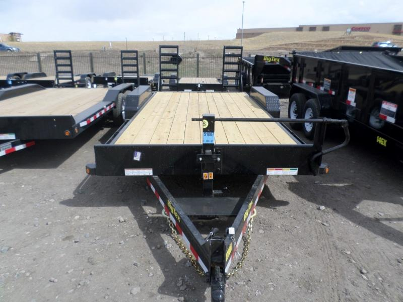 2017 Big Tex Trailers 14ET-18BK-KR Flatbed Trailer