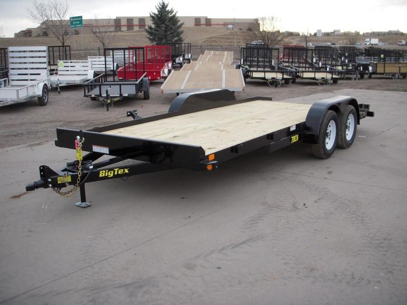 2018 Big Tex Trailers 70CH-18BKDT Flatbed Trailer