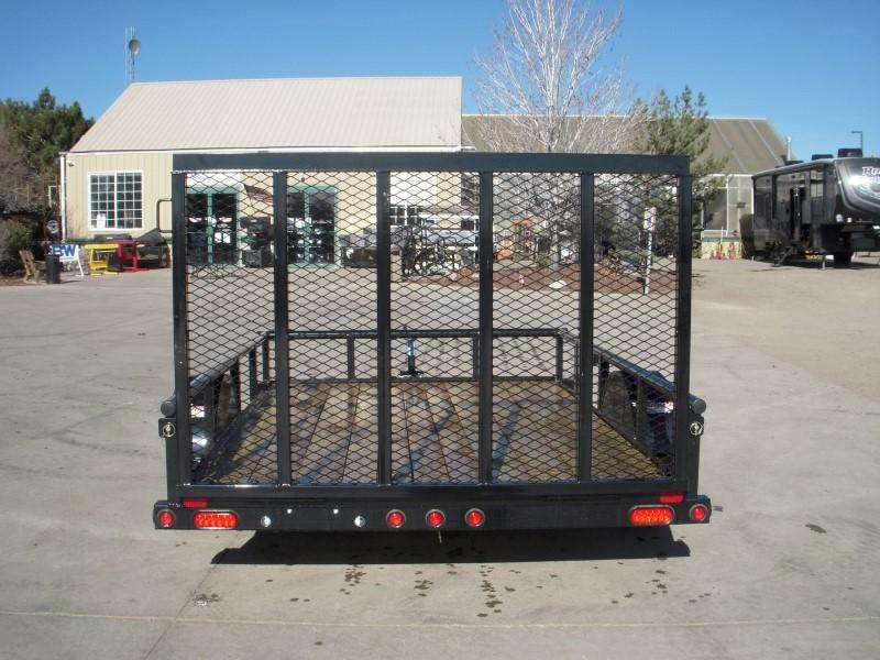 2018 Big Tex Trailers 35SA-10BK4RG Flatbed Trailer