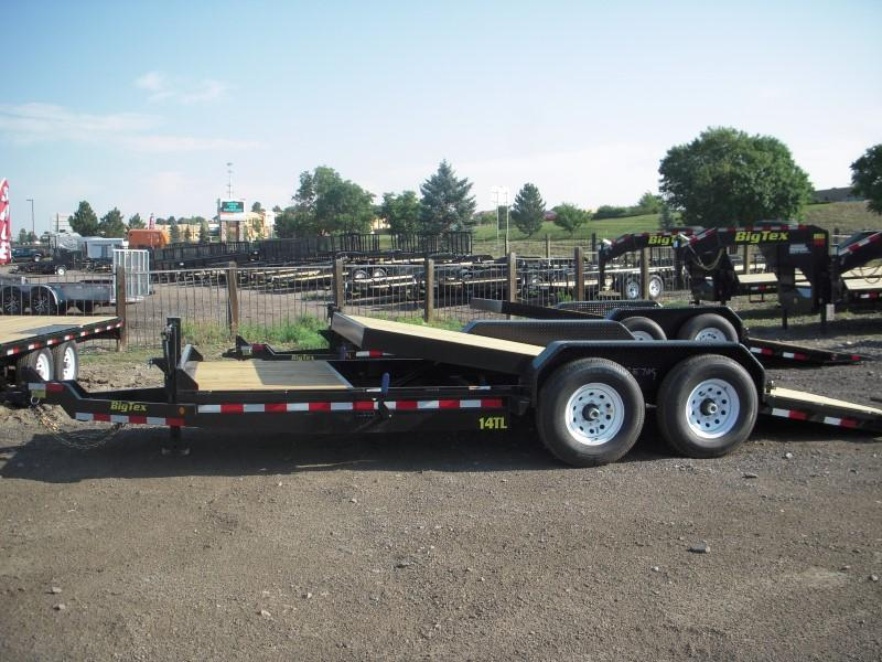2017 Big Tex Trailers 14TL-20BK Flatbed Trailer