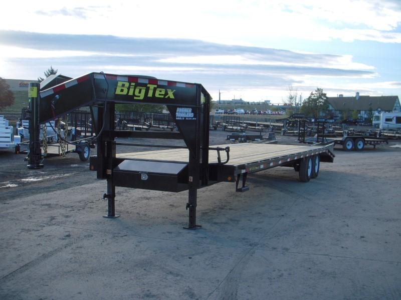 2018 Big Tex Trailers 14GN-25BK+5 Flatbed Trailer