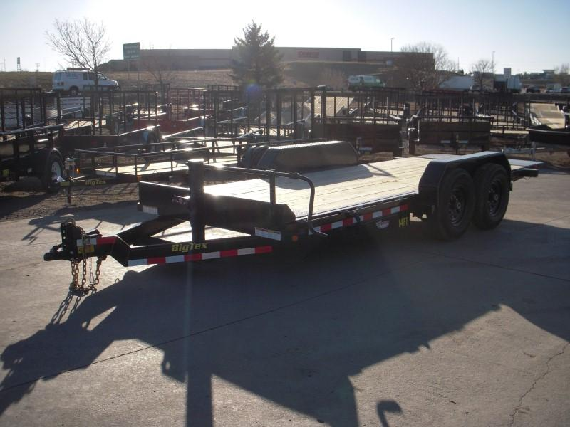 2018 Big Tex Trailers 14FT-18 Flatbed Trailer