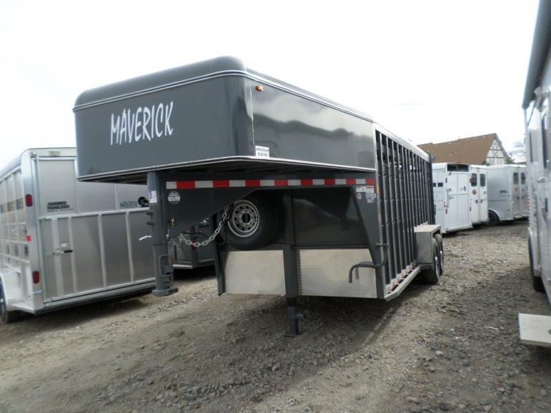 2017 Maverick MAVGNST18-14K HD STR Horse Trailer