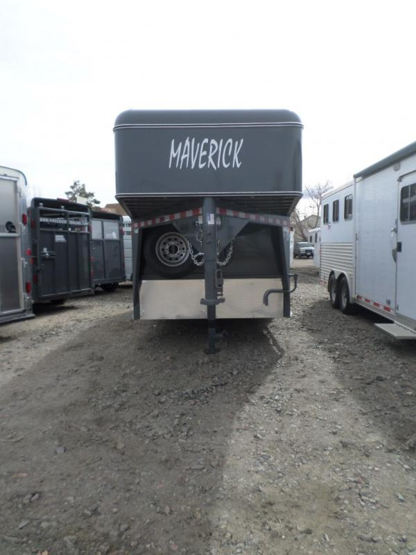 2017 Maverick MAVGNST18-14K HD STR Horse Trailer