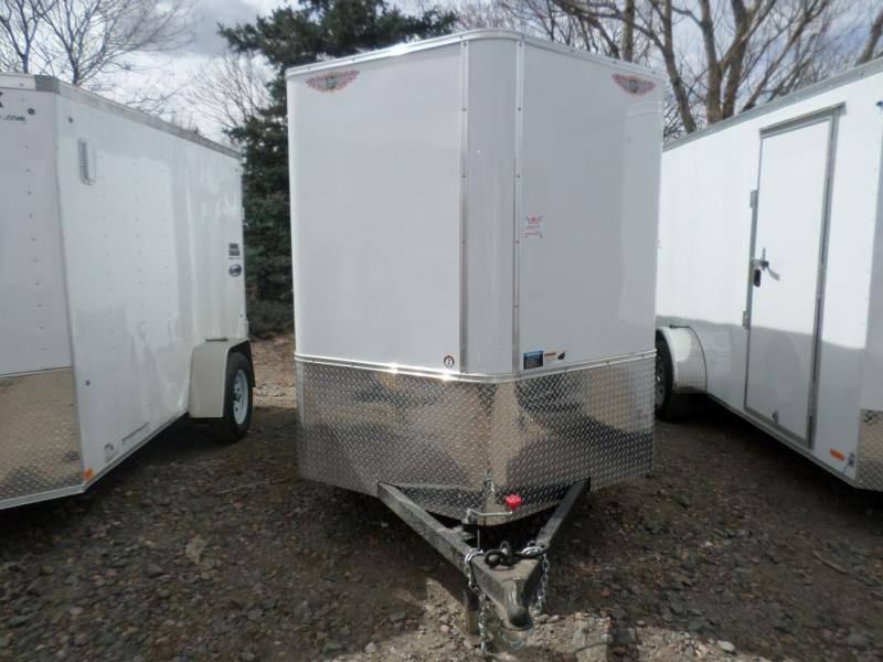 2017 H&H HHCSFTCA 6.12 72 V Enclosed Cargo Trailer