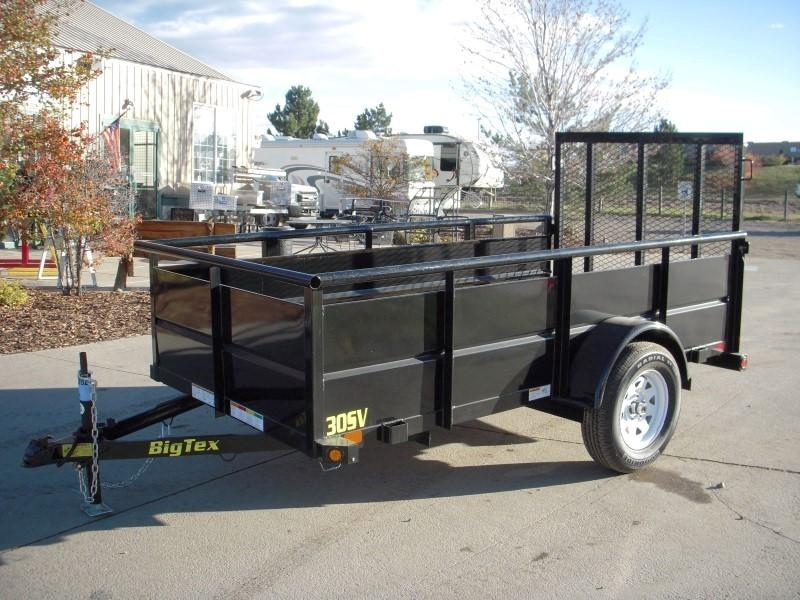 2018 Big Tex Trailers 30SV-10BK Utility Trailer