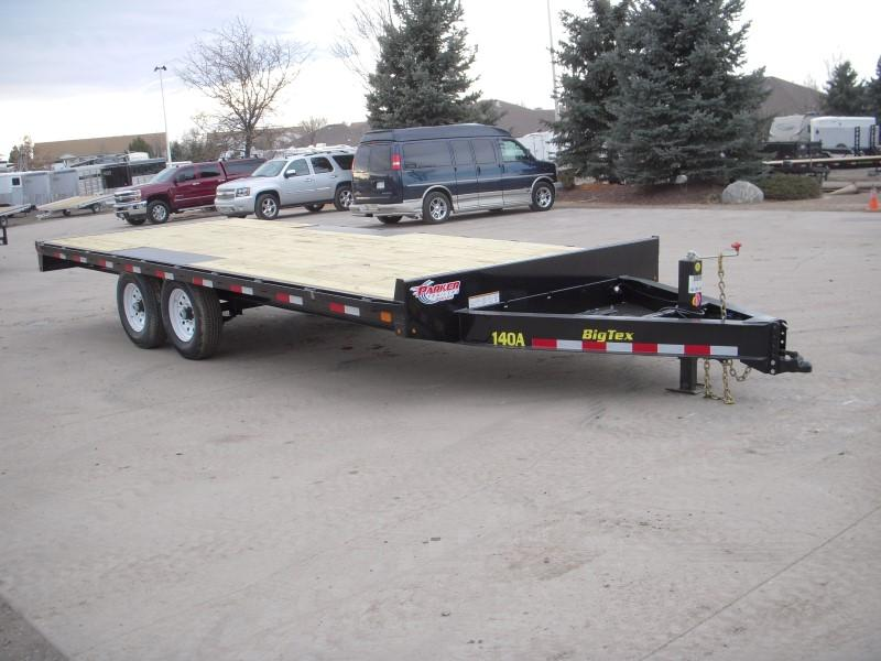 2018 Big Tex Trailers 14OA-20BK-8SIR Flatbed Trailer