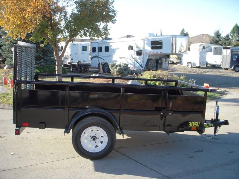 2018 Big Tex Trailers 30SV-10BK Utility Trailer