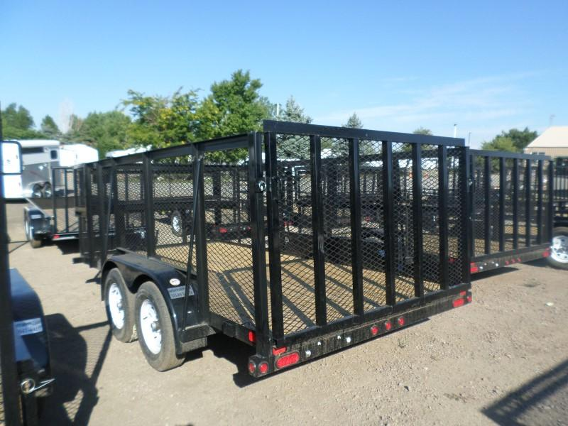2017 Big Tex Trailers 70LR-14 Utility Trailer