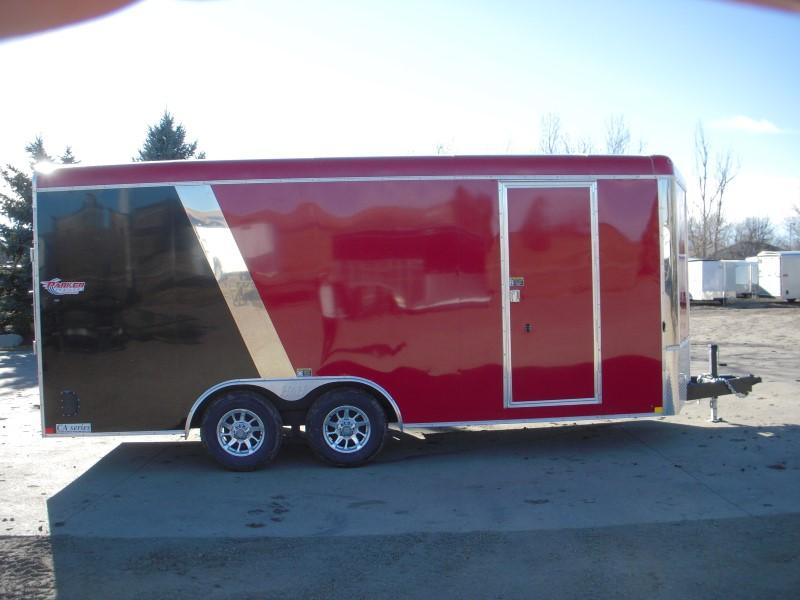 2018 H&H H10118TCAV-100 Enclosed Cargo Trailer